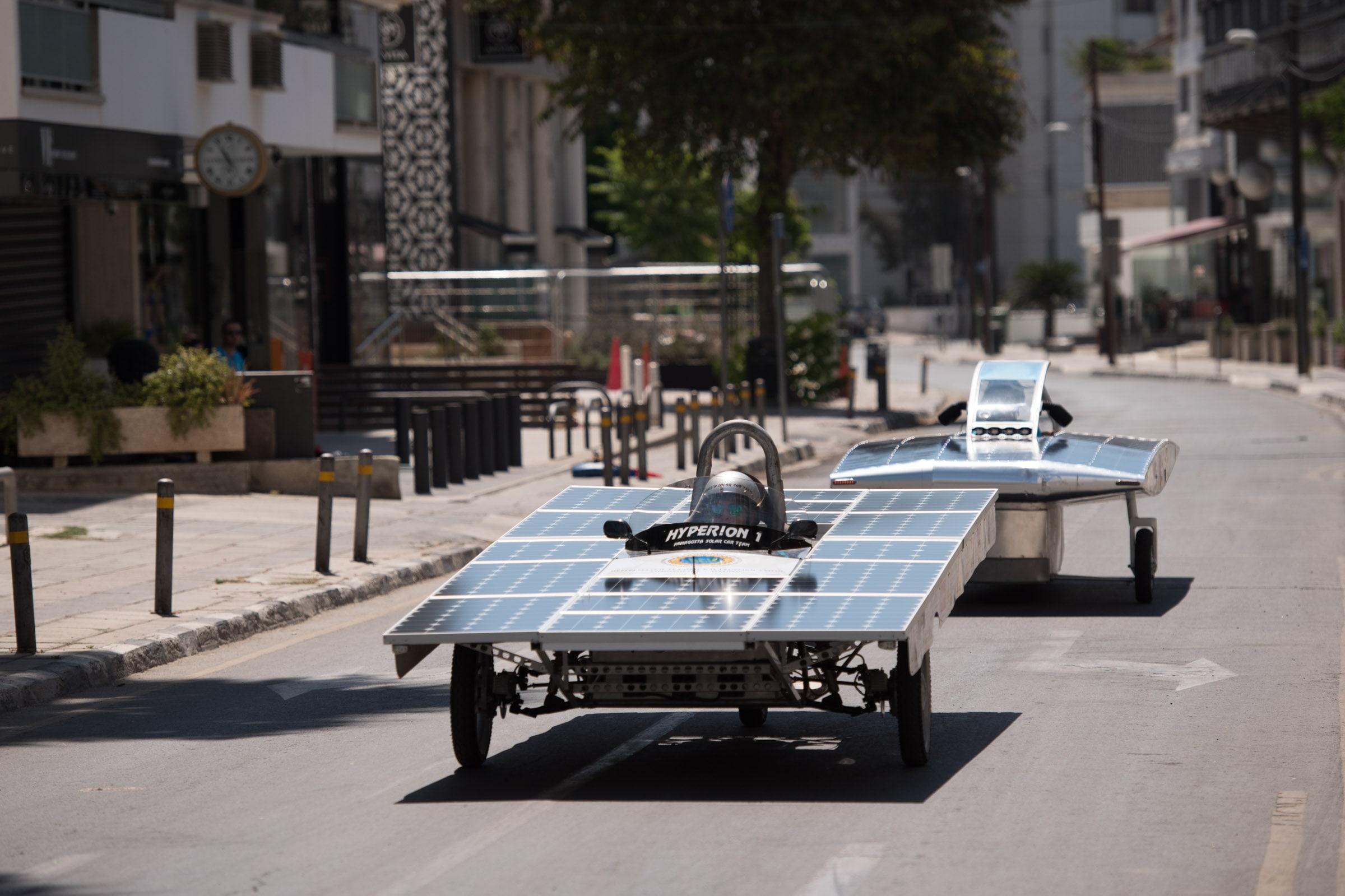 Αγώνας Ηλιακών Οχημάτων 2017