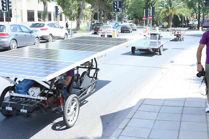 Αγώνας Ηλιακών Οχημάτων 2016